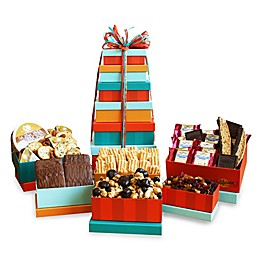 California Delicious Classic Sweet and Savory Gift Tower