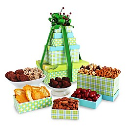 California Delicious Sweets Treats and Eats Holiday Gift Tower