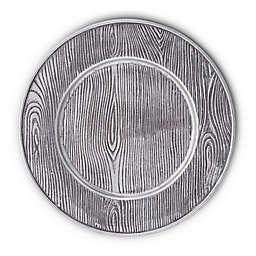 Arthur Court Designs Wood Grain Charger