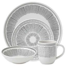 ED Ellen DeGeneres Crafted by Royal Doulton® Grey Lines 16-Piece Dinnerware Set