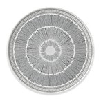 ED Ellen DeGeneres Crafted by Royal Doulton® Grey Lines 12.5-Inch Round Platter