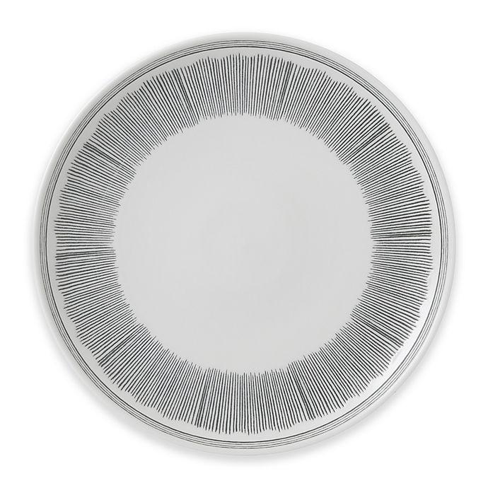 Alternate image 1 for ED Ellen DeGeneres Crafted by Royal Doulton® Grey Lines Dinner Plate