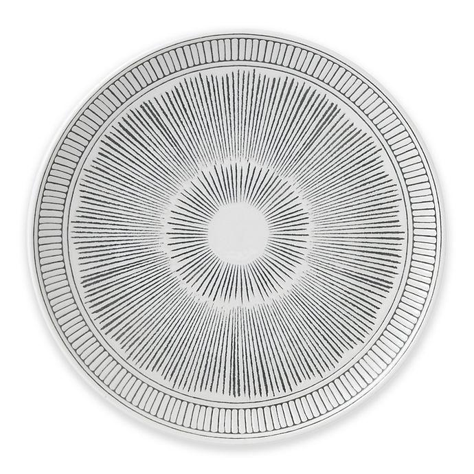 Alternate image 1 for ED Ellen DeGeneres Crafted by Royal Doulton® Grey Lines Salad Plate