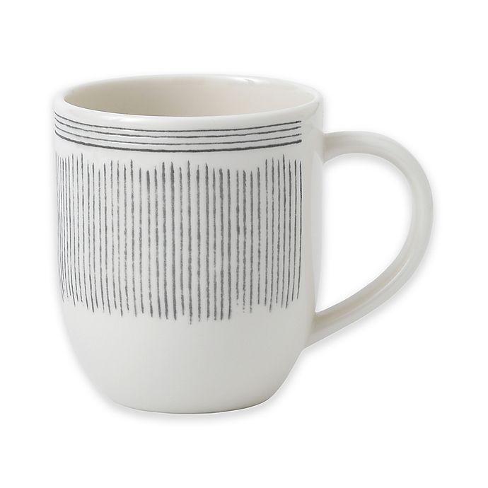 Alternate image 1 for ED Ellen DeGeneres Crafted by Royal Doulton® Grey Lines Mug