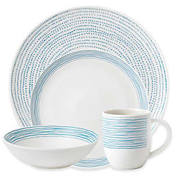 ED Ellen DeGeneres Crafted by Royal Doulton® Polar Blue Dots 16-Piece Dinnerware Set