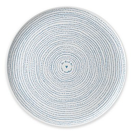 ED Ellen DeGeneres Crafted by Royal Doulton® Polar Blue Dots 12.5-Inch Round Platter