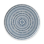 ED Ellen DeGeneres Crafted by Royal Doulton® Dark Blue Chevron 12.5-Inch Round Platter