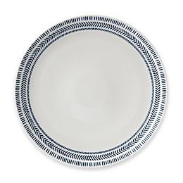 ED Ellen DeGeneres Crafted by Royal Doulton® Dark Blue Chevron Dinner Plate