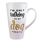 Formations Talking to My Dog Mug in White/Pink