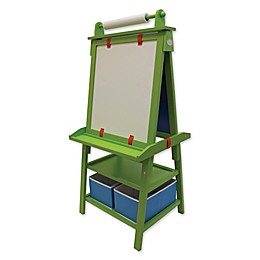 Little Partners Deluxe Learn and Play Art Center Easel in Apple Green