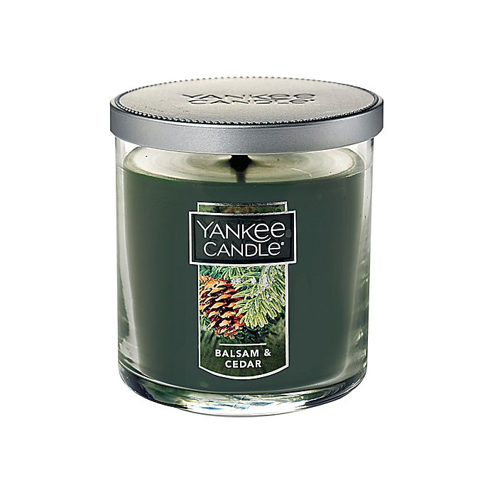 Alternate image 1 for Yankee Candle® Housewarmer® Balsam and Cedar™ Small Tumbler Candle