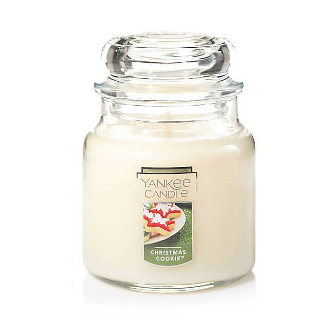 Alternate image 1 for Yankee Candle® Housewarmer® Christmas Cookie™ Medium Classic Jar Candle