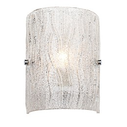 Varaluz® Brilliance 1-Light Wall Sconce in Chrome