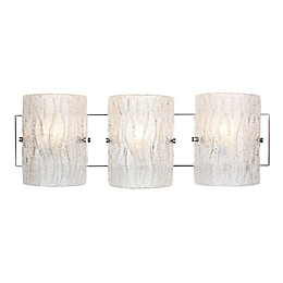 Varaluz® Brilliance 3-Light Wall Sconce in Chrome