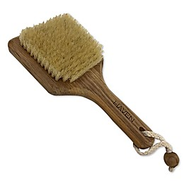 Haven™ Teak Bristle Body Brush