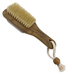 Haven™ Teak 2-in-1 Foot Brush