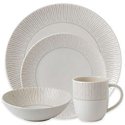 ED Ellen DeGeneres Crafted by Royal Doulton® Taupe Stripe 16-Piece Dinnerware Set