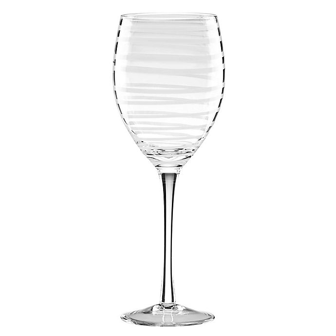 Alternate image 1 for kate spade new york Charlotte Street™ White Wine Glasses (Set of 2)