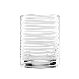 kate spade new york Charlotte Street™ Double Old Fashioned Glasses in White (Set of 2)