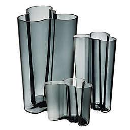 Iittala Alvar Aalto Vase in Dark Grey