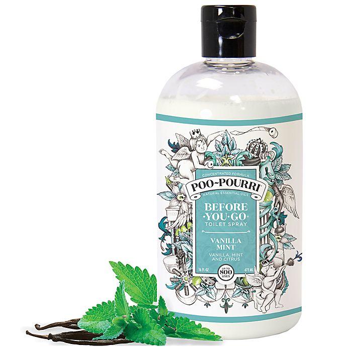 Alternate image 1 for Poo-Pourri® Before-You-Go® 16 oz. Toilet Spray in Vanilla Mint