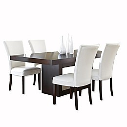 Steve Silver Co. Antonio Dining Table in Dark Cherry