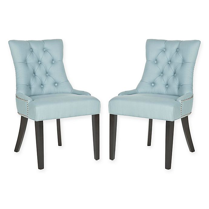 Mcdaniels Kitchen And Bath: Buy Safavieh Harlow Ring Chairs In Light Blue (Set Of 2