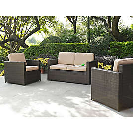 Crosley Palm Harbor Outdoor Wicker Furniture Collection ...