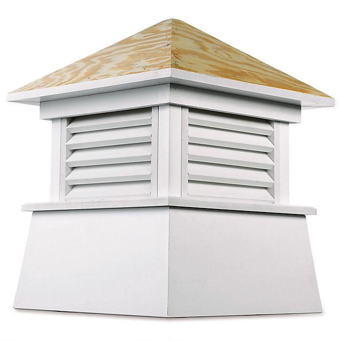Alternate image 1 for Good Directions Kent 84-Inch x 105-Inch Cupola in White