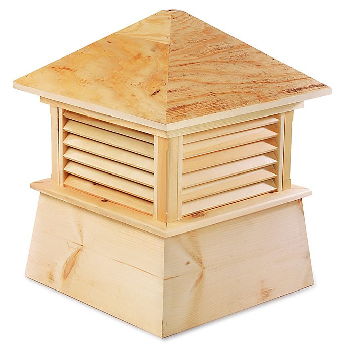 Alternate image 1 for Good Directions Kent 84-Inch x 105-Inch Cupola in Natural