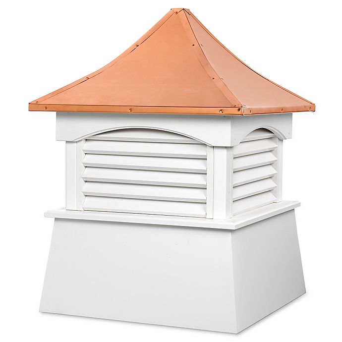 Alternate image 1 for Good Directions Coventry 84-Inch x 107-Inch Cupola in White