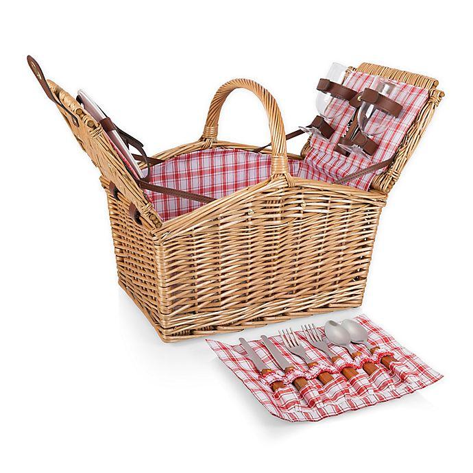 Picnic Time Piccadilly Picnic Basket Set   Bed Bath & Beyond