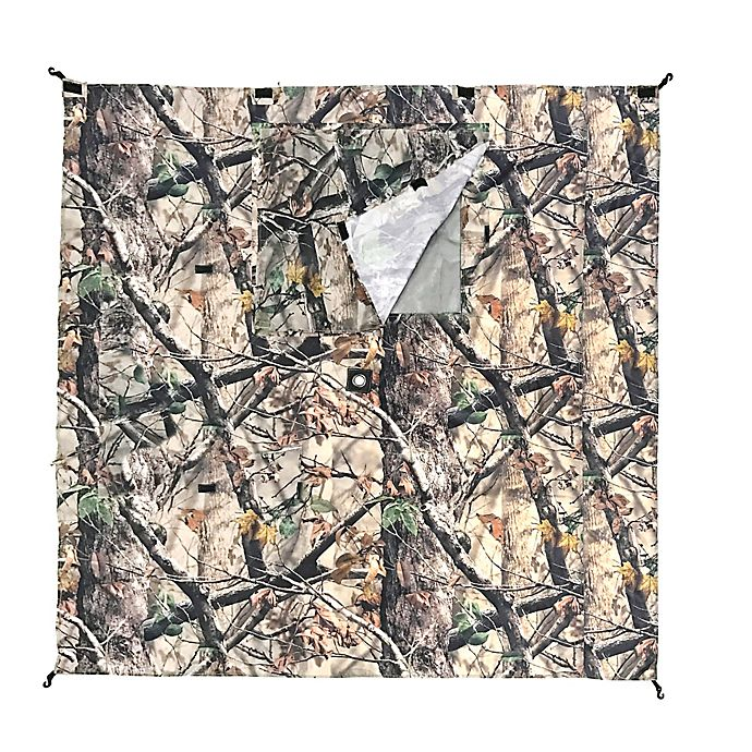 Alternate image 1 for Clam Outdoors Wind Panel 3-Pack for Screen Shelters in Camo
