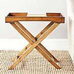 Safavieh Leo Tray Table in Brown
