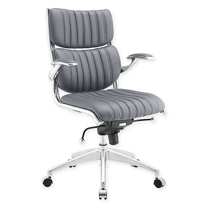 Alternate image 1 for Modway Escape Mid-Back Office Chair in Grey