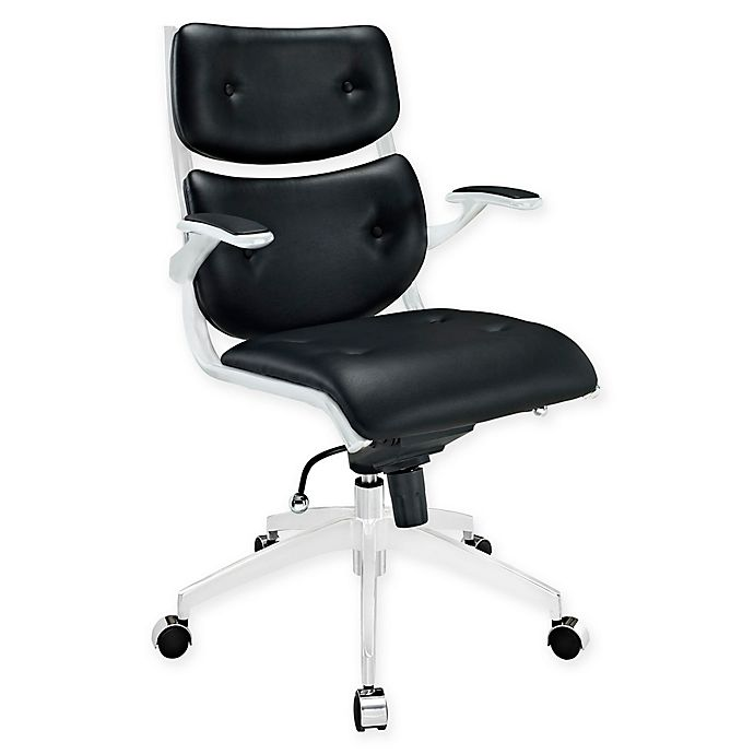 Alternate image 1 for Modway Push Mid-Back Office Chair in Black