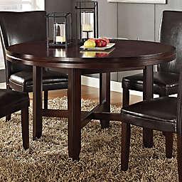 Steve Silver Co. Hartford Dining Room Table in Dark Brown