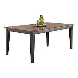 Steve Silver Co. Rani 72-Inch Rectangular Dining Table in Cherry/Ebony