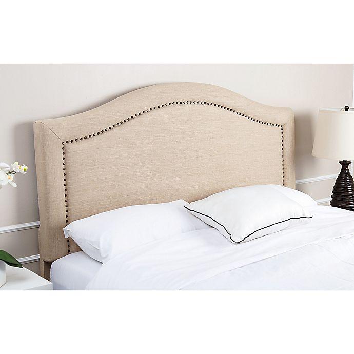Abbyson Living 174 Raleigh Linen Headboard Bed Bath Amp Beyond