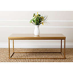 Abbyson Living® Durham Coffee Table in Antique Gold