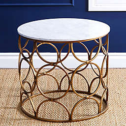 Abbyson Living® Roland Coffee Table in Gold/Marble