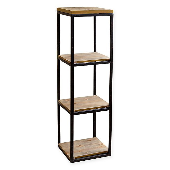 Abbyson Living Kirkwood 3 Shelf Bookcase In Natural Bed Bath Beyond