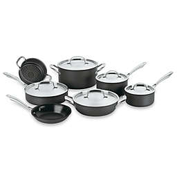 Cuisinart® Green Gourmet™ Nonstick Stainless Steel 12-Piece Cookware Set