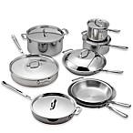 All-Clad Copper Core 14-Piece Cookware Set
