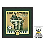NFL Green Bay Packers  State  Photo Mint