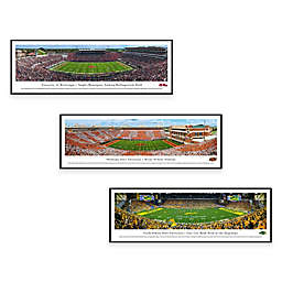 Collegiate Panorama Stadium Print with Standard Frame Collection