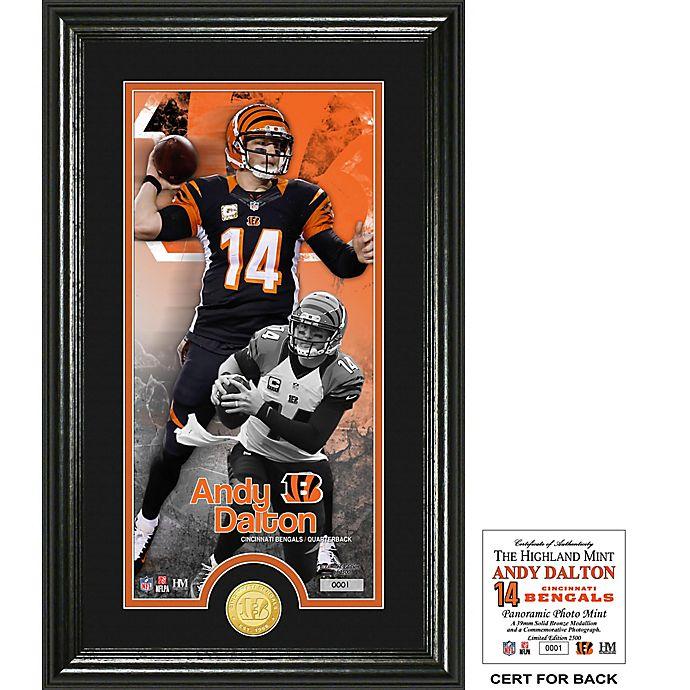Alternate image 1 for NFL Cincinnati Bengals Andy Dalton Supreme Bronze Coin Photo Mint