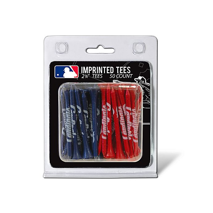 Alternate image 1 for MLB St. Louis Cardinals 50-Count Golf Tee Pack