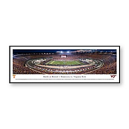 Blakeway Panoramas 2016 Battle at Bristol Print with Standard Frame