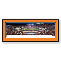 Blakeway Panoramas 2016 Battle at Bristol Print with Deluxe Frame